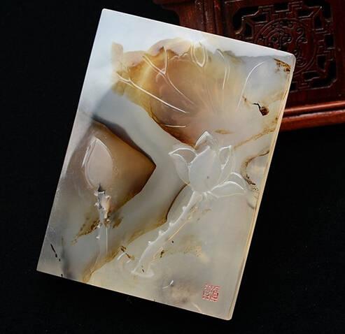 玉雕大师作品图片貔貅 想象空间无限
