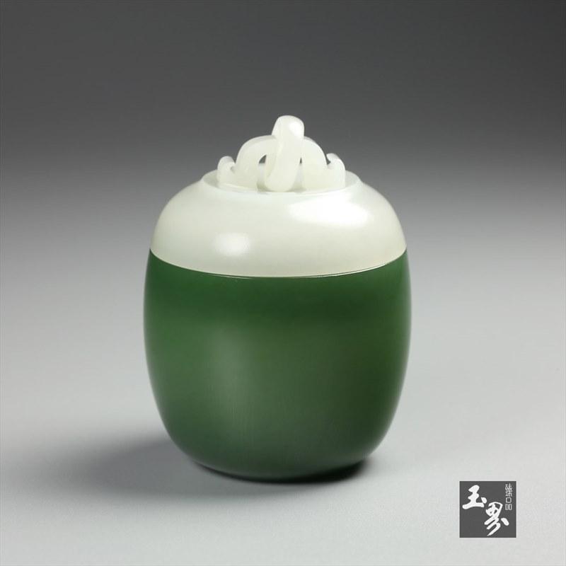 灵动&古朴——那些和田玉罐