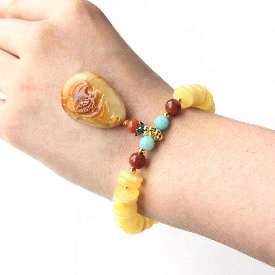 蜜蜡女式手链有些什么保养功效