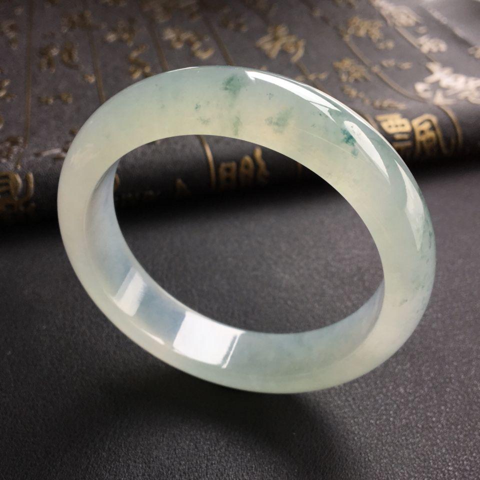 冰种飘花手镯(56.2mm)